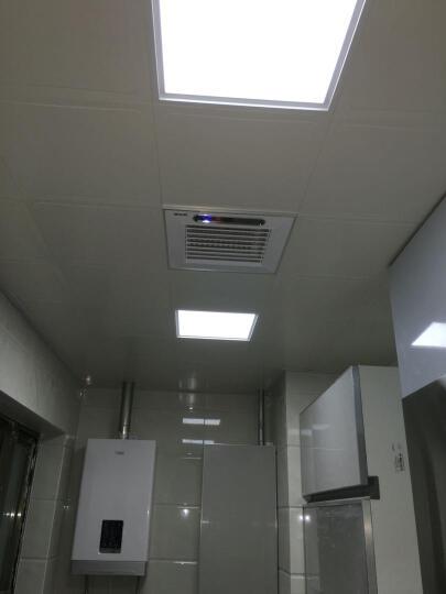 纳韦斯集成吊顶LED灯铝扣板面板灯厨卫天花灯嵌入式平板灯 超窄边24w(金)适用15㎡内 晒单图