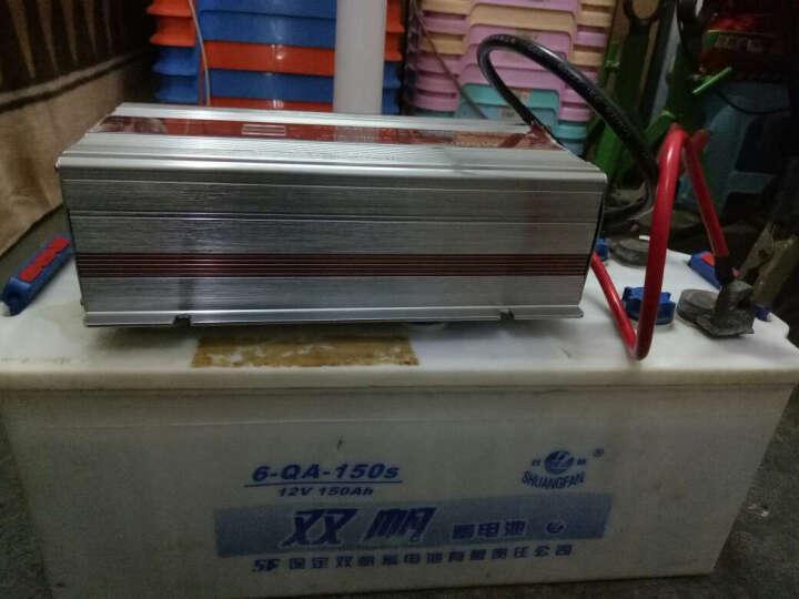 索尔STA-1000W 12V转220V 逆变器 静音风扇智能温控 带电量大功率显示功能 升级版SDB500W/12V送鱼尾夹点烟器(红色) 晒单图