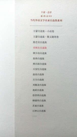 史铁生自选集(病隙碎笔 务虚笔记 王蒙推荐)/路标石丛书 晒单图