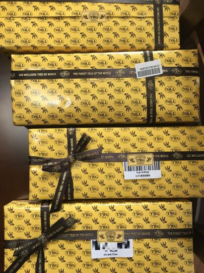 新加坡原装 TWG茶包礼盒15小包tea下午茶 精美包装送手提袋 经典三种组合Classic 晒单图