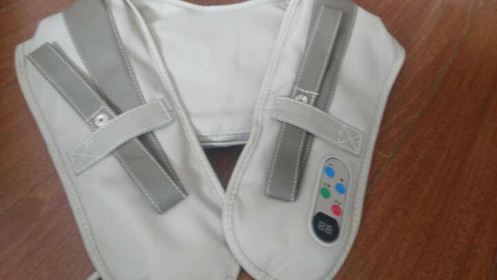 哈斯福 按摩披肩颈椎腰肩膀背部多功能按摩器 家用敲打捶背按摩仪器 晒单图