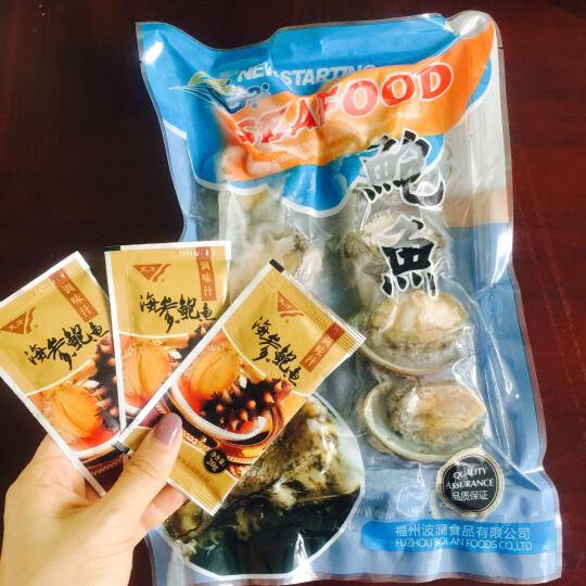 波澜 即食鲍鱼汁 鲍汁捞饭海参伴侣 鲍汁酱调味汤料浓高汤 20g/包 晒单图