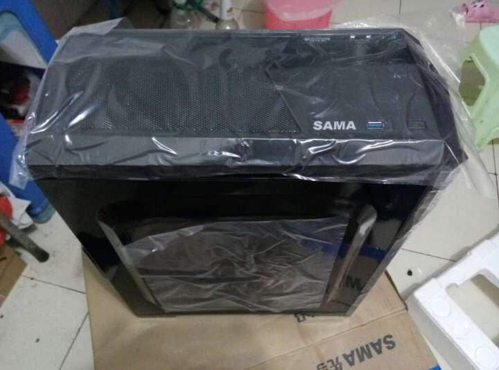 先马(SAMA)影子战士荣耀版黑游戏机箱(MATX小板专用/USB3.0/SSD/下置/背线/长显卡) 晒单图