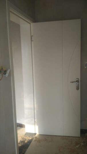 拜伦(byron) 欧式室内门锁纯铜锁芯套装 房间门卧室执手锁具合页门吸套装金拉丝门把手 镍拉丝BLN-2018PN 晒单图