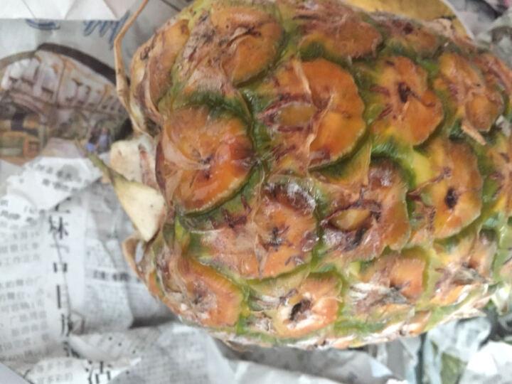 品赞 菲律宾凤梨2个 单果1-1.2kg 菠萝进口水果 晒单图