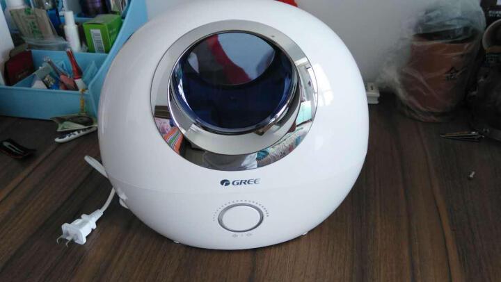 格力(GREE)加湿器 静音迷你办公室卧室家用带香薰盒加湿孕妇婴儿可用 SC-2002-WG 椭圆白 晒单图