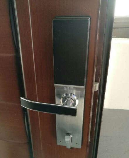 亚太天能(TENON ) V6e指纹锁密码锁智能锁电子锁防盗门锁 钢琴黑标配版+【指纹+密码+钥匙+刷卡】 晒单图