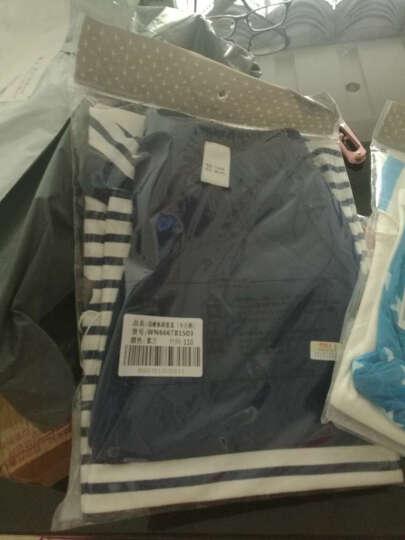 南极人(Nanjiren)【20款可选】南极人童装男女宝宝短袖套装夏季儿童T恤半袖两件套 菠萝星星-黄色 80CM 晒单图