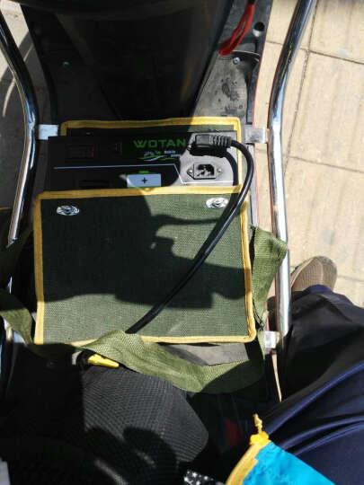 电动车锂电池应急充电宝两轮三轮车48v60v72v便携式移动电源增程 72V34A三/四轮电动车 晒单图