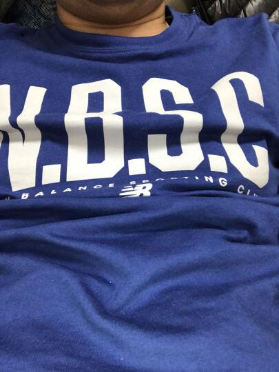 New Balance NB 男款 圆领运动短袖休闲T恤 针织上衣 AT L 晒单图
