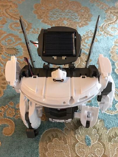 早教机器人机器狗儿童科学玩具智能拼装益智DIY动手动脑 太阳能7合1太空舰队 晒单图