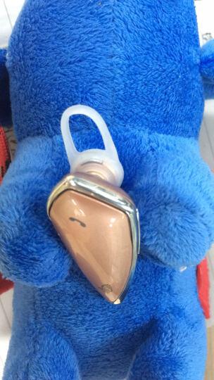 蜂助手 无线蓝牙耳机 入耳/耳挂双模式立体声全向降噪麦克风通用手机耳机 蓝牙耳机 无线运动磁吸防水 玫瑰金 晒单图