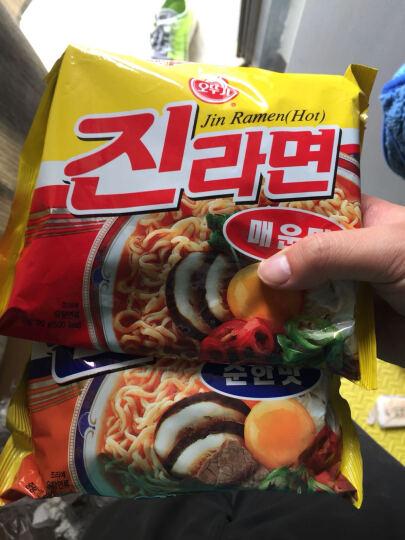 韩国进口 芝士面 奶酪起司拉面 不倒翁拉面 泡面111g 晒单图