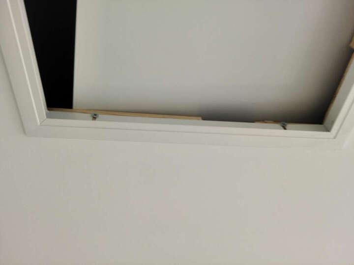 颂余 白色铝合金检修口可定做 吸磁按开式 锁式 托盘式 墙体管道检修口 预留孔吊顶卫生间厨房检修孔 250*250 晒单图