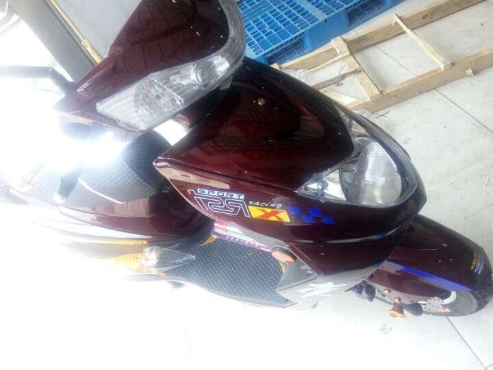 欧峰 迅鹰电动车电瓶车电摩踏板摩托车72V双人60V祖玛自行车96v1500W 黄色 大迅鹰72v20A超威锂电池 晒单图