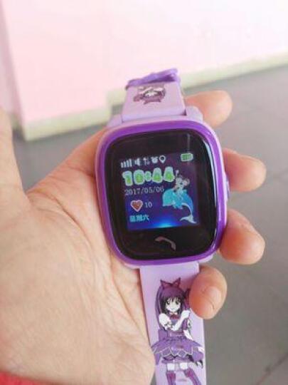 儿童电话手表 360度防水安全防护触屏智能定位手表男女支持苹果华为vivo oppo手机 队长炫酷蓝GPS版 晒单图