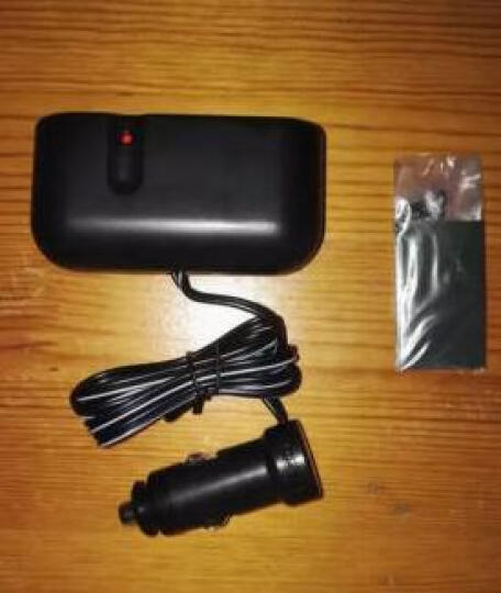 YAC 车载一拖二点烟器 汽车用手机充电器 车充一拖三点烟器带USB电源转换 一分二插座 PZ-620一拖二带USB3米线长 晒单图