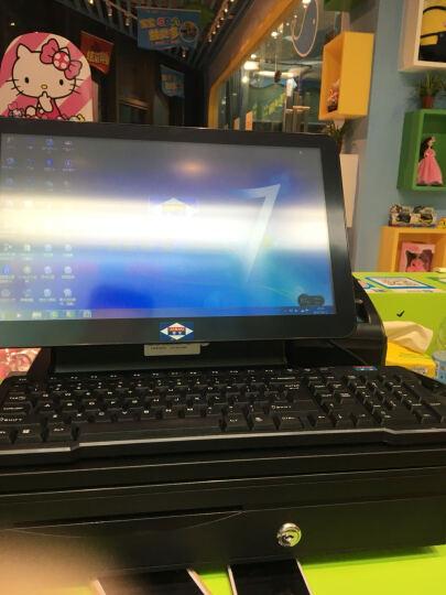 爱宝(Aibao)AB-9800收银机一体机零售收款机点餐机餐饮烟酒商超奶茶服装水果店收银机 双屏 单机 晒单图