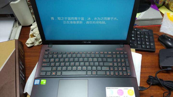 华硕顽石(ASUS)电竞版FH5900VQ 15.6英寸游戏笔记本电脑(i7-6700HQ 4G 1T 940MX 2G独显 FHD)红黑 晒单图