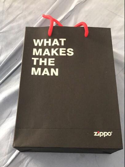 zippo之宝防风打火机 油配件133ml Zippo打火机专用煤油组合套装 官方旗舰店 zippo烟缸(颜色随机) 晒单图