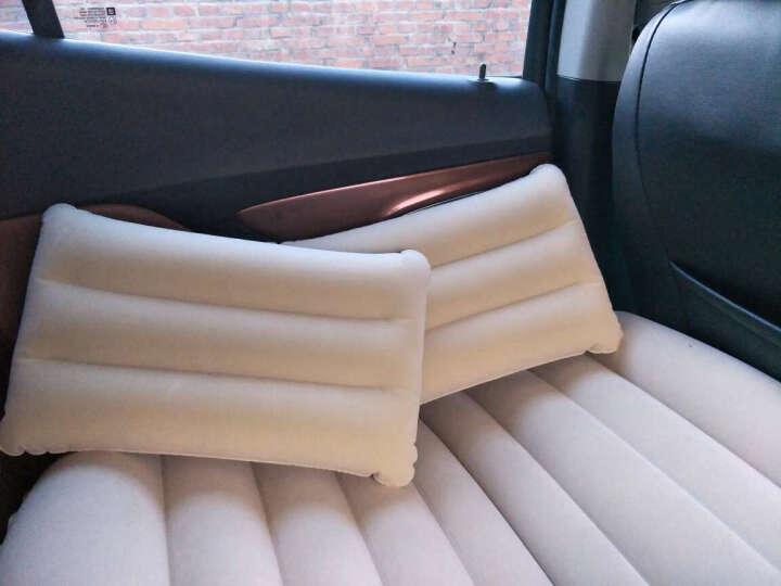 畅意游(Easy Tour)汽车后排座充气床 自驾游装备 车载旅行休息充气床垫车震床 米色 晒单图