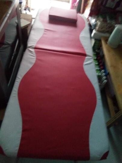 朗福轩 便携式美容床 折叠床美容床理疗家用按摩床推拿床针灸床 70cm红色 LFX-M01 晒单图