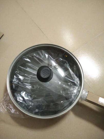 爱仕达 34CM炒锅不粘锅NWG8334E 电磁炉炒锅炒菜锅具 不沾锅少油烟送木铲 晒单图