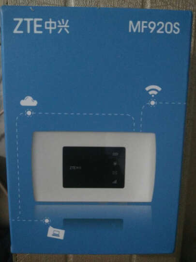 中兴(ZTE) 【送11G流量卡】中兴移动wifi随身4g无线路由器直插车载三网通上网卡托 MF920S联通4G/3G电信4G 晒单图