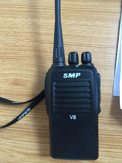 MOTOROLA 摩托罗拉对讲机SMP-V28 可调频商用民用手持对讲机V168/SMPV8升级版 官方标配+耳机+车充+拉杆 晒单图