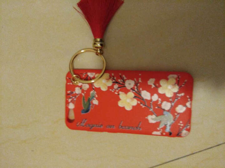 萨凯帕 小米红米s2手机壳 s2手机套 全包保护套 磨砂硅胶软壳 趣味创意文字 适用于小米红米 s2 喜鹊红 晒单图