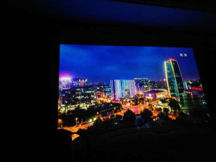 神画(PIQS) 便携投影仪家用办公商务手机无线wifi高清微型户外神话投影机 无屏电视3D投影便携 移动商务版 送原装支架+高清线 晒单图