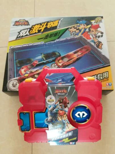 奥迪双钻(AULDEY) 爆裂飞车3 暴力暴烈暴裂爆烈2 变形机器人动漫儿童玩具男孩套装 爆裂3-合体夺晶变形-熔炎爆684201S 晒单图