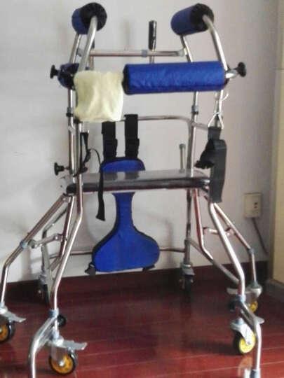 惠扬(Hui Yang) 老人学步车助行器成人站立架中风偏瘫骨科康复训练器材学步器带轮四角拐杖凳 六轮防后仰侧翻轮可调节 晒单图