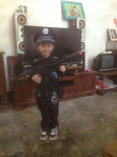 儿童玩具套装水弹软弹玩具枪COS手铐道具 生日礼物送小孩儿童玩具 战术马甲 晒单图