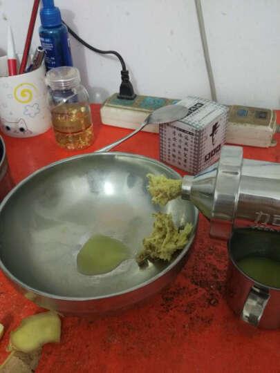 力可美(LUCKY MAN) LKM-MJ01手动榨汁机全不锈钢手摇水果蔬菜小麦草原汁器 晒单图