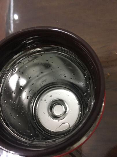 日本进口象印(ZOJIRUSHI)儿童保温桶 男女学生食物罐 真空焖烧罐 不锈钢保温桶/壶 SW-GC36-RA 360ML西瓜红 晒单图