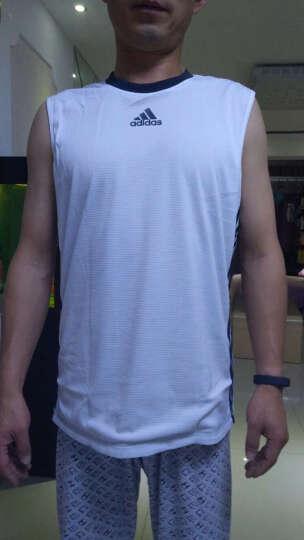 阿迪达斯ADIDAS 2017夏季 男子 篮球系列 背心 BR7903 S码 晒单图