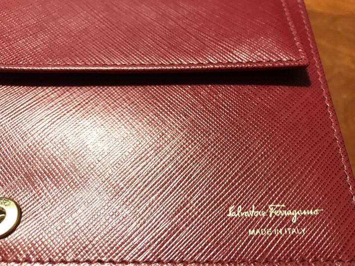 Salvatore Ferragamo 菲拉格慕 女士玫红色牛皮VARA蝴蝶结时尚单肩包斜挎包 22B850 0643559 晒单图