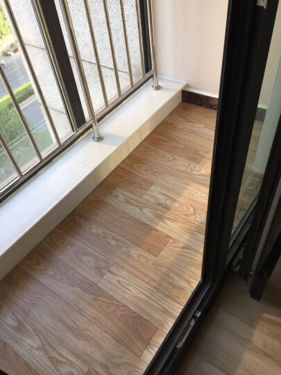加厚地板革 耐磨防水 塑胶地板卷材 家用地板纸pvc地板胶工程革 1.6mm厚工程革GH010 晒单图