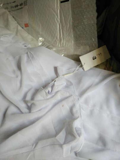 依琦莲(yiqilian) 白色瑜伽服女套装春夏款吊带背心锦纶健身服 S13+13033+13032白色+白色三件套 XL 晒单图