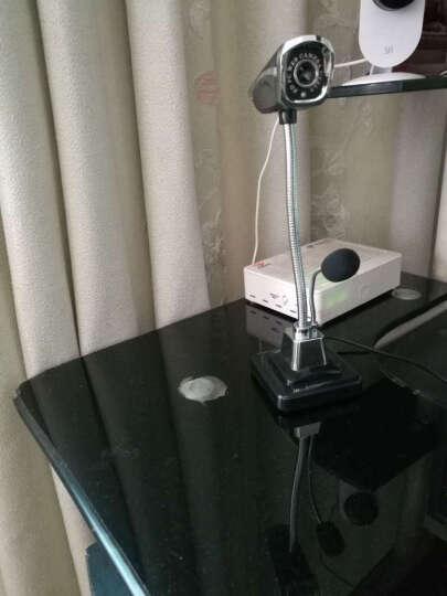 【京东配送】 M800 台式电脑笔记本外置摄像头 高清夜视网络视频 带麦克风 黑色 晒单图