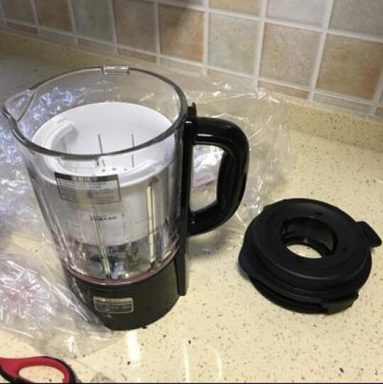 SKG 料理机 家用多功能全自动 搅拌机豆浆绞肉机粉碎机干磨辅食榨汁1290 黑色 晒单图