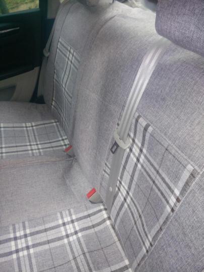 炫佑 专用全包座套亚麻布艺四季汽车座椅套垫 米色 东方景逸S50X35XV风行SX6风神AX3AX7 晒单图