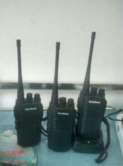 万华(Wanhua) 万华HTD813对讲机 民用手台 酒店工地无线车载电台自驾游 官方标配 晒单图