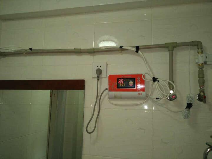 桑乐SANGLE太阳能热水器家用 全自动电热水器 盛世中国 36管-301L送货上门+安装 晒单图