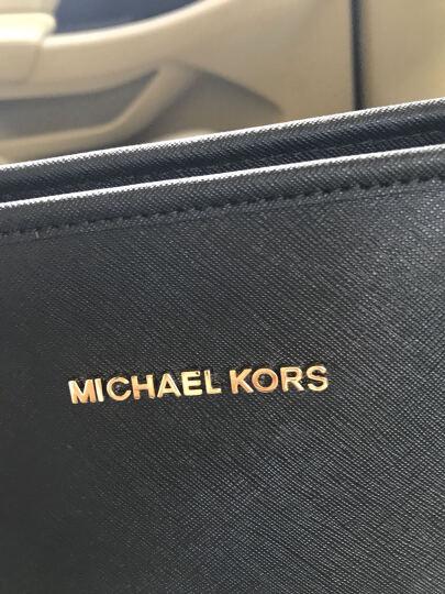 MICHAEL KORS 迈克·科尔斯 MK女包 海军蓝牛皮女士大号手提单肩包 30T5GTVT2L NAVY 晒单图