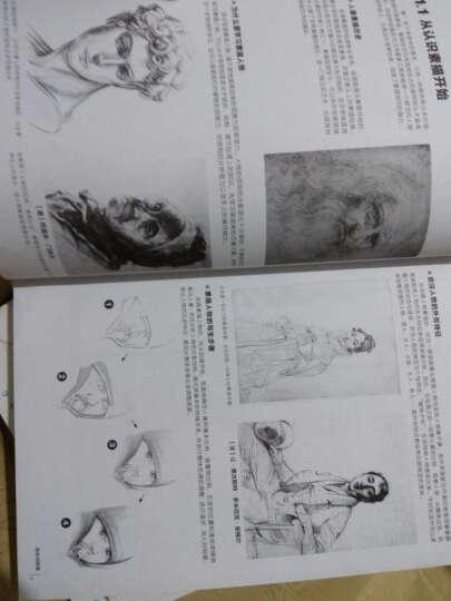 铅笔素描 从入门到精通全套5册动物+植物+人物+风景+静物篇 飞乐鸟 零基础自学教程 晒单图