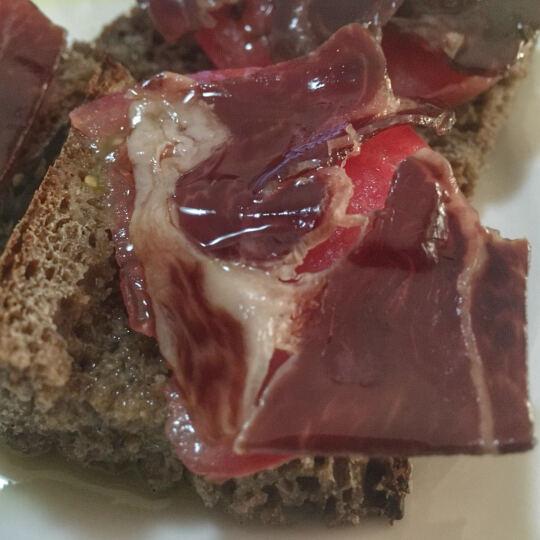 5J 西班牙伊比利亚火腿 去骨前腿 冷藏熟食 1.5kg/盒 整腿 橡木果喂养 全程冷链 晒单图