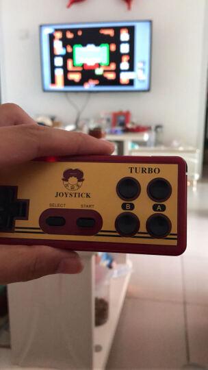 小霸王 G36智能游戏机 家用高清电视游戏主机 无线手柄经典红白机电玩 智能红白机标配+安卓有线单手柄 晒单图