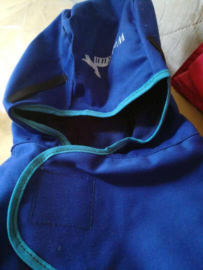 康友 (KPRO) 焊工帽 电焊工作服 电焊服 阻燃焊帽 电焊焊接保护焊帽 蓝色阻燃焊帽 1201 晒单图